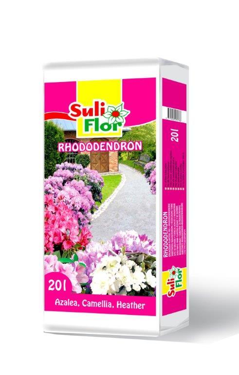 substratas rododendrams
